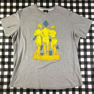 Diesel Juan Eucarionte Trinity Statues Art T Shirt